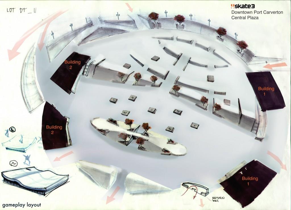 Skate Concept Central Plaza