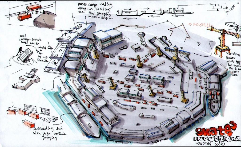 Skate Park Concept