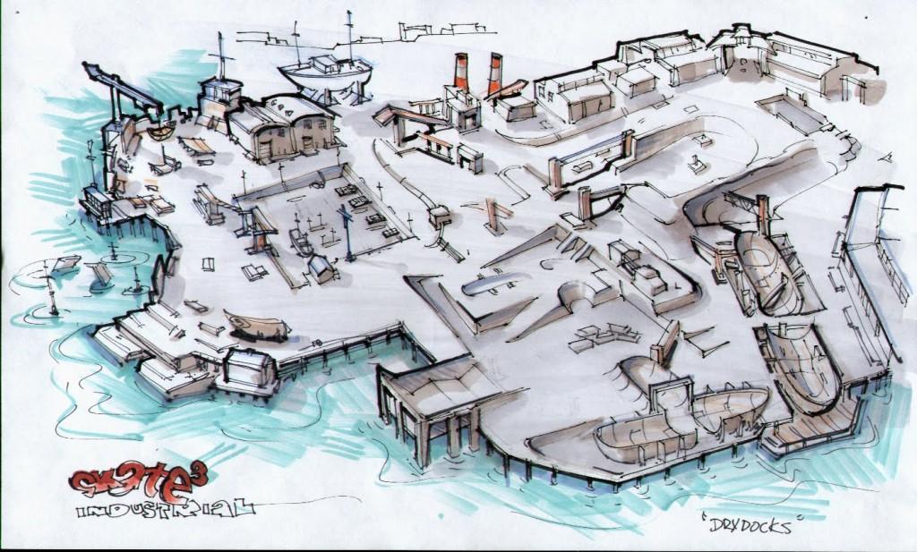 Skate Park Concept Docks
