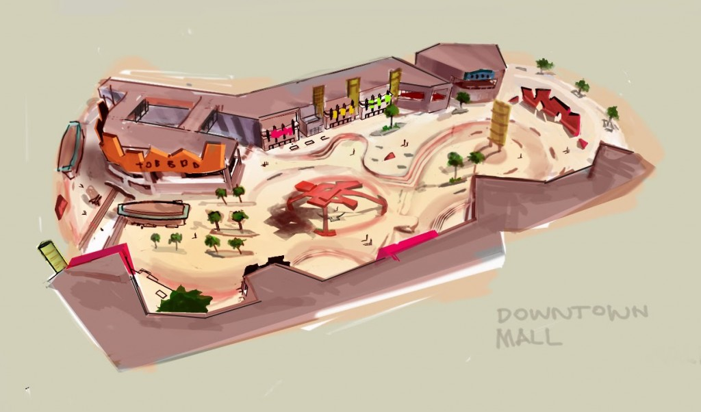 Skate Mall Concept